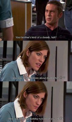 Dexter. Deb.