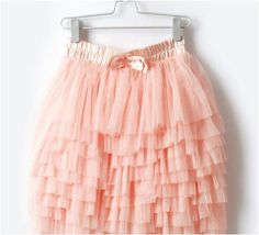 pink tutu skirt :) would be so cute in summer with a white tank and cute flip flops