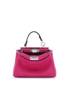 841b83349d Fendi Peekaboo Micro Satchel Bag