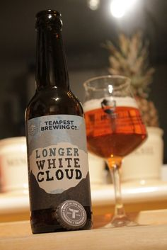 Name: Longer White Cloud Brewery: Tempest, Tweedbank, Scotland ABV: 10.2% Style: Imperial pale ale - Bit boozy, a tad over-sweet, yet packed with bowls of melon, orange,  kiwi and pineapple. Lightly roasted malt and spicing [star anise?] provide the under-study before the plunge into the dry, bitter finish that's over-shadowed by the sweetness coming back. Not bad though prefer the lower ABV Long White Cloud. [6.5] #craftbeer #paleale