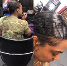 17 Hot Styles - Braided Ponytail for Black Hair in 2019 - Style My Hairs Bobby Pin Hairstyles, Box Braids Hairstyles, Hairdos, Sleek Hairstyles, Protective Hairstyles, Blond, Curly Hair Styles, Natural Hair Styles, Rides Front