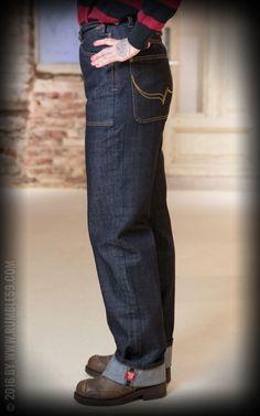 Rumble59 Ladies Denim - Restless Rosie - Worker Jeans