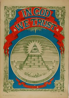 Rick Griffin: In God We Trust, 1967