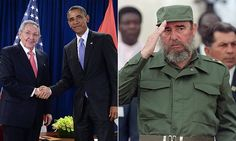 Obama says 'history will judge the enormous impact' of Fidel Castro on the people and the world around him while news of the Cuban leader's death shakes the streets of Havana