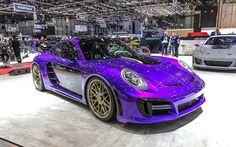 Scarica sfondi Gemballa Avalanche, tuning, 2017 cars, Porsche 911 Turbo supercars, Porsche