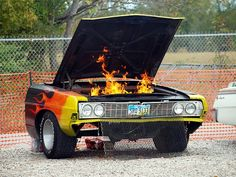 Vehicular Furnishings and Automotive Decor - HAHA!!! BBQ grill! Love this-WANT this!!!! This site is too fun! It's like I've hit the Motherlode of de-constructed car furniture! ;-D