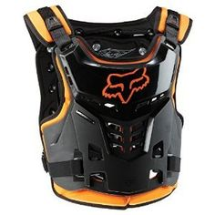 Color: Orange Size: One Size Fox Racing Proframe LC MotoX/Off-Road/Dirt Bike Roost Deflector for Youth Boys