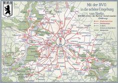 Ausflugskarte der BVG (1937)