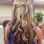 Braided-half-up-half-down-hairstyles-for-Wedding-prom