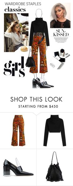 """""""What in my closet"""" by cephora on Polyvore featuring mode, Gucci, Valentino, Maison Margiela, Loeffler Randall, Dorothee Schumacher et H&M"""