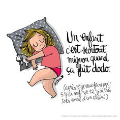 Learning French With Elly_Vocabulary_ Faire dodo_Slang of Dormir Parenting Humor, Kids And Parenting, Funny Blogs, My Past Life, Image Fun, Facebook Humor, Learn French, Illustrations, Positive Attitude