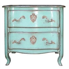 Side table French Blue