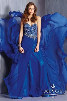 Alyce Prom Dress Style #6309      Fall 2014