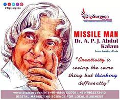 Top Digital Marketing Companies, Facebook Marketing, Abdul Kalam, Instagram Website, Former President, Einstein, Creativity, Science, Twitter
