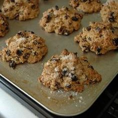 Moist alternative to the classic British rock cakes, with raisins, apricots, citrus peel and cranberries. Breakfast Muffins, Breakfast Recipes, Rock Cakes, British Rock, Dough Balls, Dried Apricots, Coffee Cake, Tray Bakes, Raisin