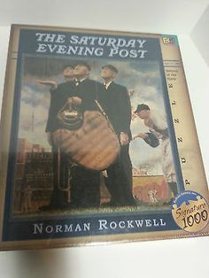Buffalo Games Inc Signature 1000 Puzzle Bottom of The Sixth Norman Rockwell | eBay