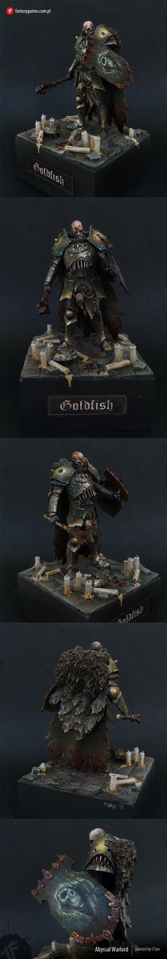 The Internet's largest gallery of painted miniatures, with a large repository of how-to articles on miniature painting Warhammer Models, Warhammer Fantasy, Fantasy Rpg, Medieval Fantasy, Warhammer 40k, Fantasy Model, Reaper Miniatures, Fantasy Miniatures, Fantasy Paintings