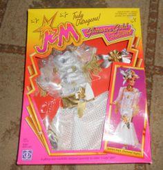 Hasbro Jem Doll Series 1986 Glitter & Gold Golden days Diamond Nights NIB