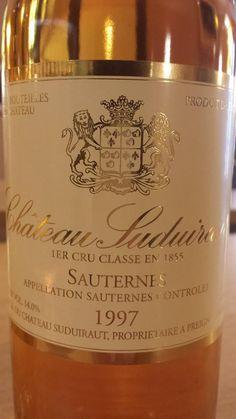 #Wine of the day // #Vin du jour : Château #Suduiraut 1997 – 1er Cru Classé à…