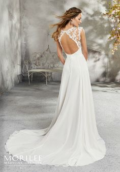 We stock a wide range of Mori Lee Wedding Dresses, find your perfect Mori Lee wedding dress today at Bridal Factory Outlet in Northallerton. Mori Lee Bridal, Mori Lee Wedding Dress, Western Wedding Dresses, V Neck Wedding Dress, Classic Wedding Dress, Bridal Wedding Dresses, Wedding Dress Styles, Keyhole Back Wedding Dress, Casual Fall Wedding