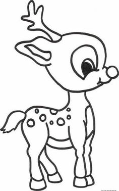 christmas colouring in pages reindeer google search - Santa Claus Sleigh Coloring Pages