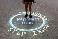 """Happiness Here Interactive Public Art Installations"" NYC - The Mazeking"
