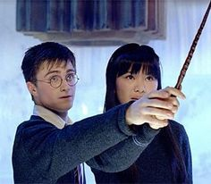 harry potter and the order of the pheonix, Harry and Cho