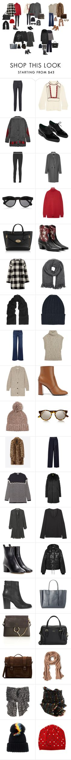 """""""OUTFIT 1"""" by momwithsneakers ❤ liked on Polyvore featuring Victoria Beckham, Étoile Isabel Marant, Isabel Marant, Roland Mouret, Illesteva, Marni, Mulberry, Yves Saint Laurent, Hatch and Madeleine Thompson"""