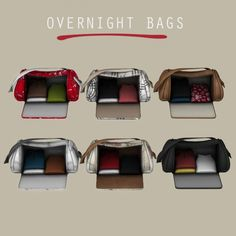 Overnight Bags at Leo Sims • Sims 4 Updates