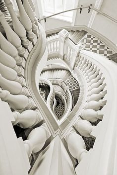 Staircase Helsinki Natural History Museum by Jukka Björn on 500px