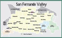 San Fernando Valley California.