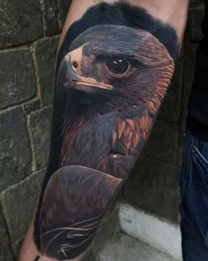 Tattoo artist Emersson Pabon is part of Tattoo Artist Emersson Pabon Caracas Venezuela Inkppl - Tattoo artist Emersson Pabon color and black and grey portrait realism Caracas, Venezuela Dot Tattoos, Eagle Tattoos, Animal Tattoos, Black Eagle Tattoo, Tatoos, Sanskrit Tattoo, Teardrop Tattoo, Falcon Tattoo, Hawk Tattoo