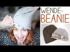 DIY Mütze nähen für Anfänger - Wendemütze, Beanie aus T-Shirt - Schnitt erstellen - alive4fashion - YouTube