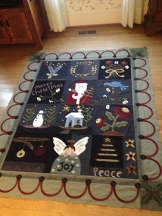 Christmas quilt by quiltingmommer, via Flickr