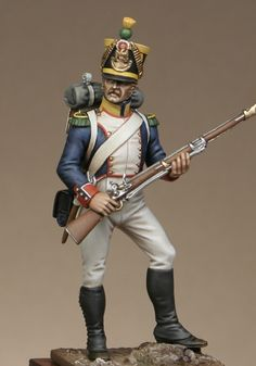 Metal Modeles as an Irish Legion Voltigeur | planetFigure | Miniatures