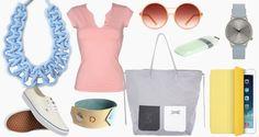 Pasztell kiegészítők Polyvore, Shopping, Image, Style, Fashion, Moda, Fashion Styles, Fashion Illustrations, Stylus