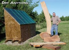 Solar Kiln Dry Your Own Wood Fast and Hassle-Free By Dave Munkittrick Wood is expensive. Easy Wood Projects, Fun Projects, Solar Projects, Popular Woodworking, Woodworking Projects, Fine Woodworking, Solar Kiln, Wood Kiln, Woodworking Magazine
