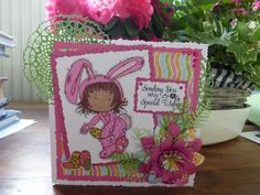 Free tatty twinkle Easter download with Easter dcwv papers and tattered lace dies. Coloured with promarkers