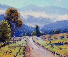 Pintura impresionista de la pintura al óleo del por GerckenGallery