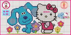 "Delicate Corner: Charts Cross Stitch ""Hello Kitty"""