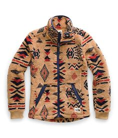 Ultra-warm, and equally as soft, full-zip jacket for getting a little more comfortable at the mountain cabin.