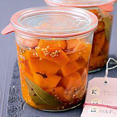 Kürbis süßsauer Rezept | Küchengötter
