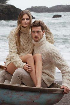 pull irlandais, le pull des pecheurs, mode pour hommes et femmes