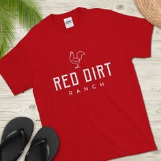 Guam Shirt Red Dirt Ranch, Chamorro Shirt, Guamanian Shirt, Short-Sleeve T-Shirt