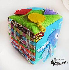 Развивающий кубик-3