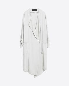 Image 8 of FLOWING FROCK COAT from Zara