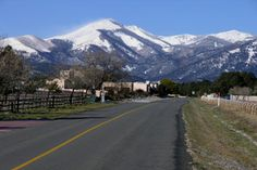 Ruidoso lies on the east side of the Sacramentos.