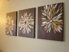 DIY Home Decor Wall Art: DIY (Pinterest Inspired) Wall Art