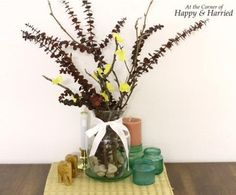 Dry Branch or Twig Arrangement