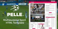 awesome PELLE - Multipurpose Sport HTML Template (Well being &amp Beauty)